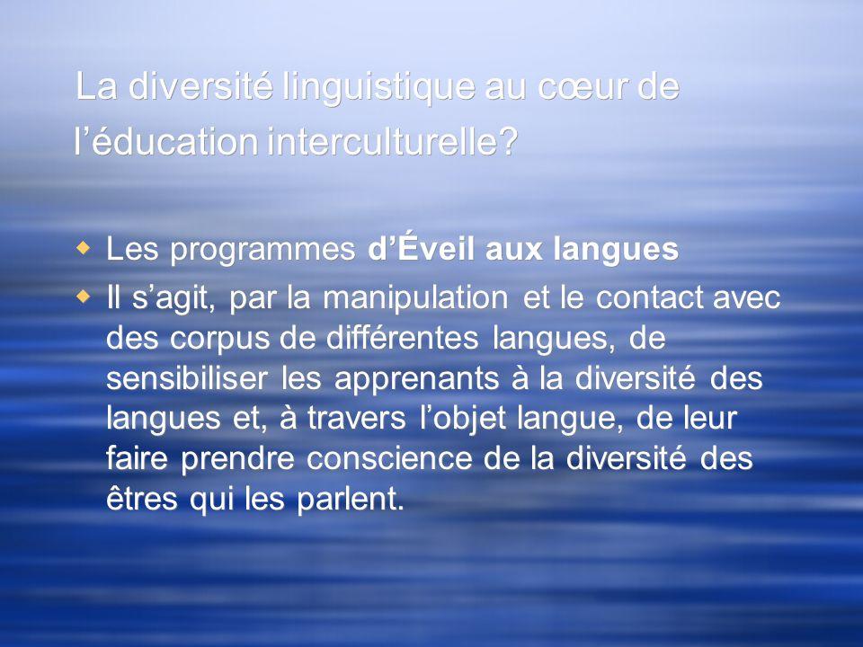 Rapport avec la langue maternelle et/ou dorigine: changerais-tu de langue maternelle….