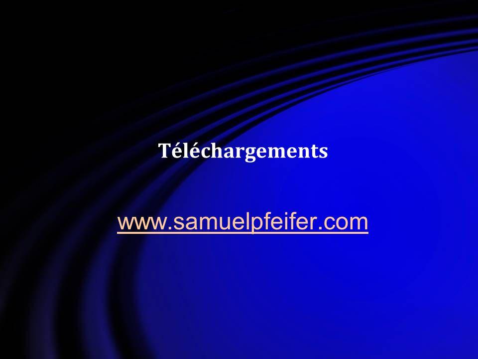 Téléchargements www.samuelpfeifer.com