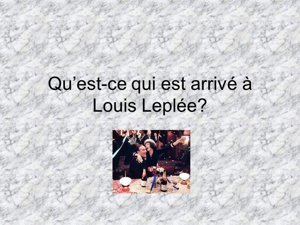 Quest-ce qui est arrivé à Louis Leplée