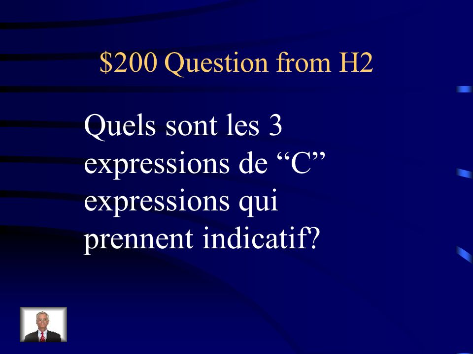 $100 Answer from H2 When negative or in a question/inversion.