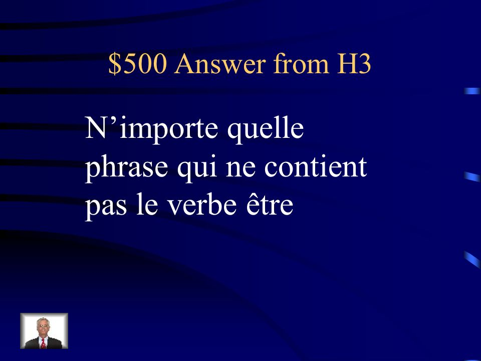 $500 Question from H3 Mettez ce mot dans une phrase: sainement.