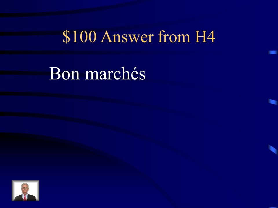 $100 Question from H4 Si on na pas beaucoup dargent, on loge dans ces hôtels…