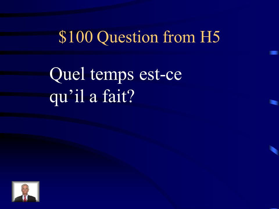 $500 Answer from H4 comptez