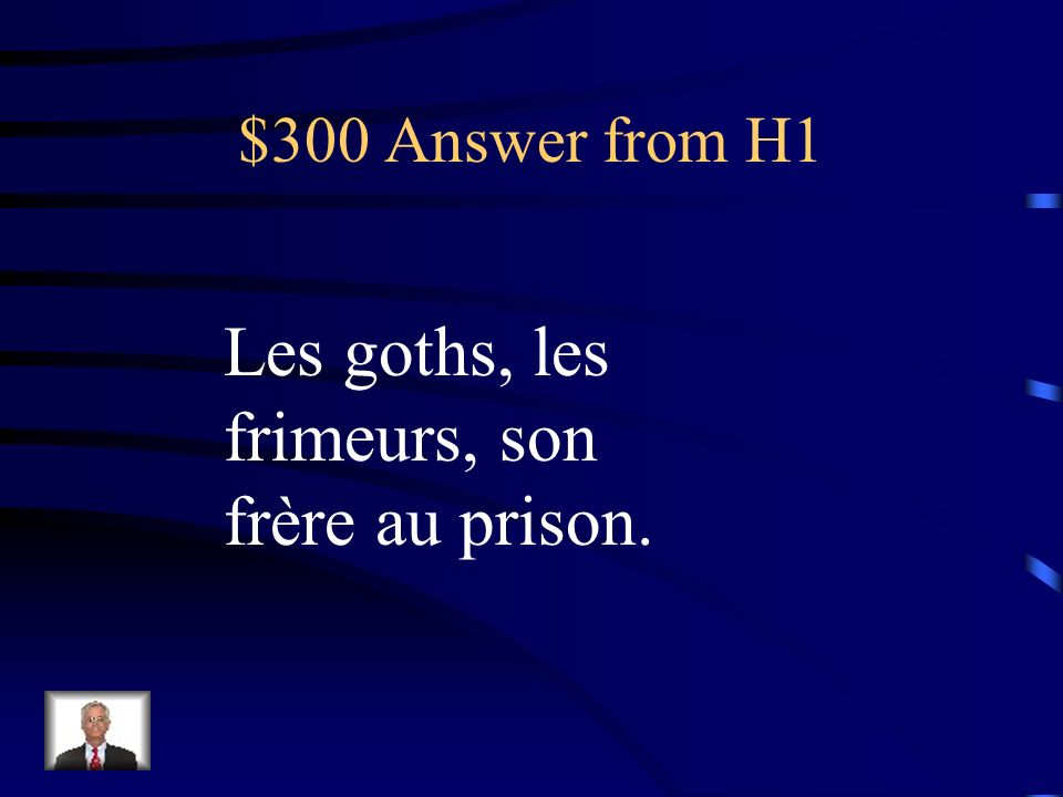 $300 Answer from H5 Depuis…