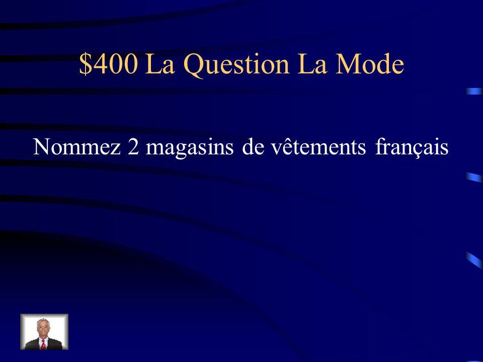 $300 La Réponse La Mode À pois, à rayures, uni