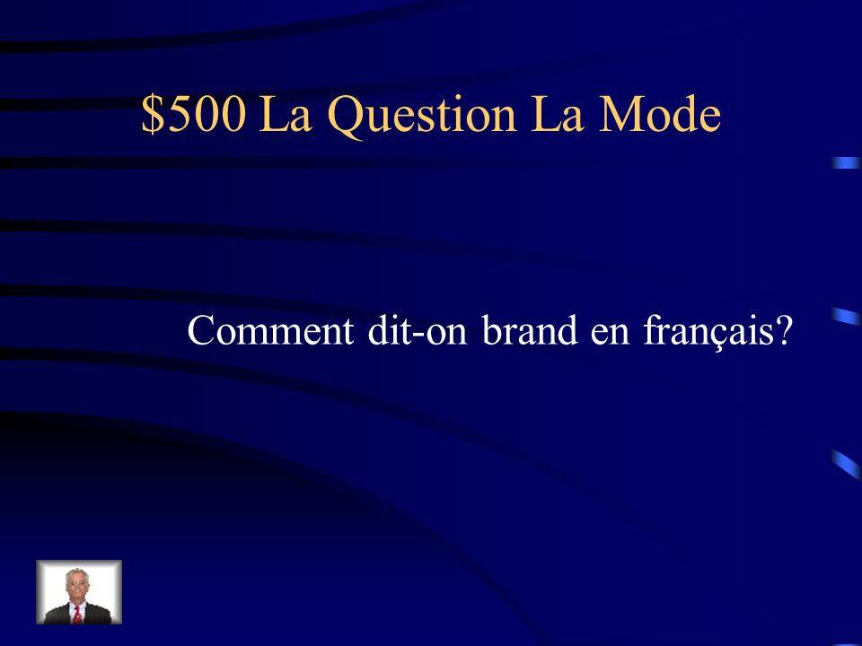 $400 La Réponse La Mode Naf Naf Galeries Lafayette Printemps
