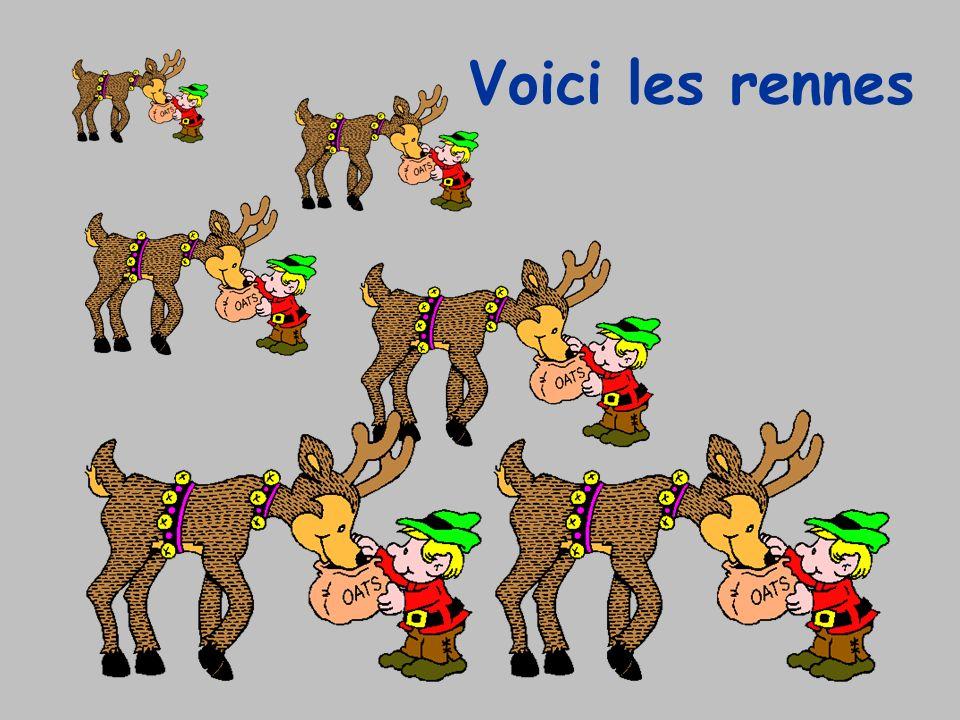 Voici les rennes