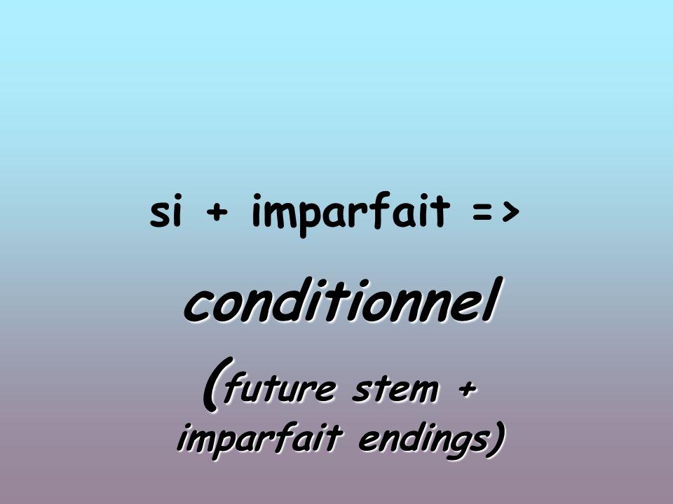 si + plus-que parfait conditionnel passé ( future stem + imparfait endings + past participle)