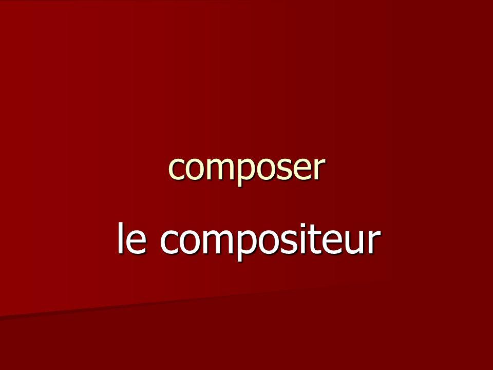 composer le compositeur