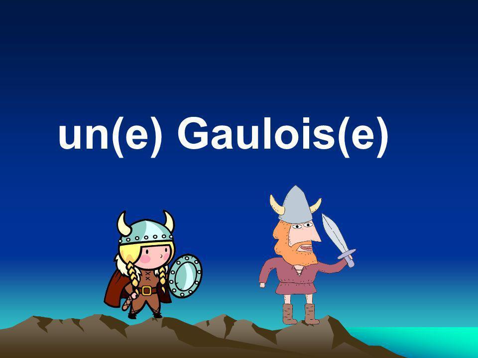 un(e) Gaulois(e)