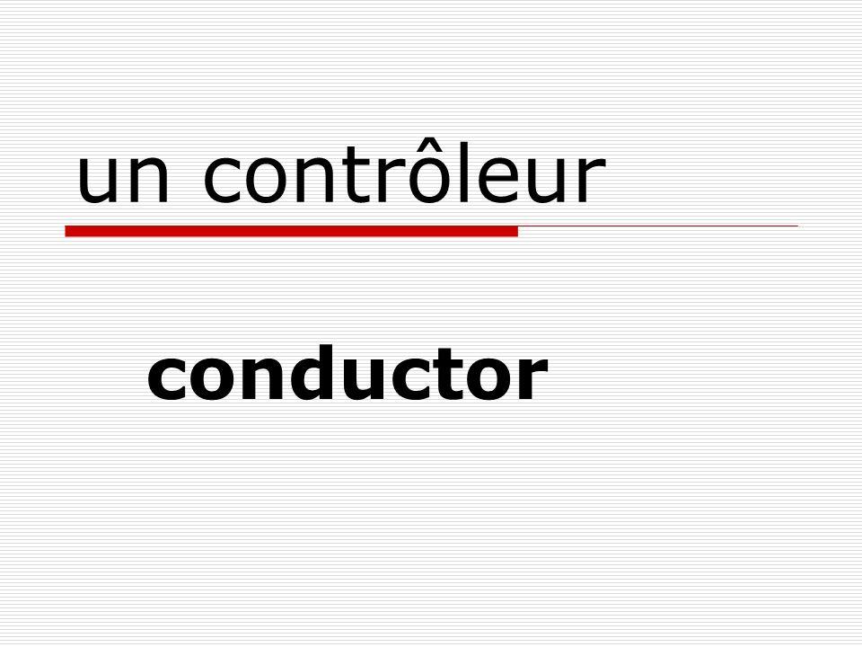 un contrôleur conductor