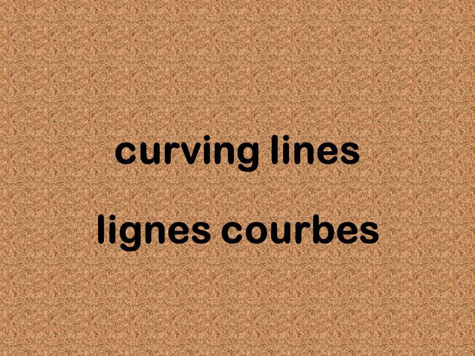 curving lines lignes courbes