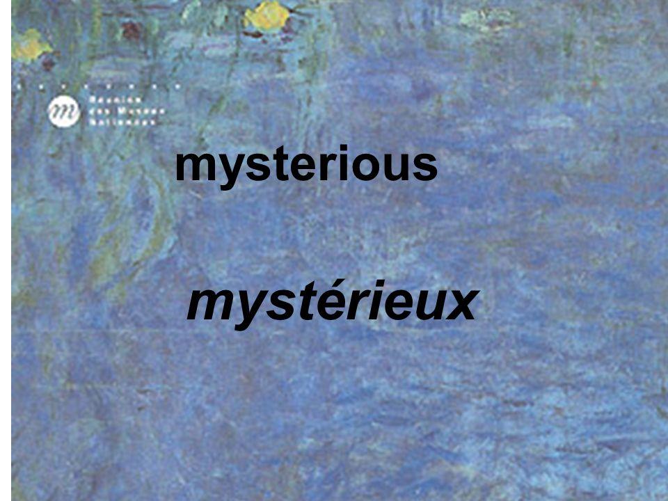 Il __ le tableau de Monet. voit