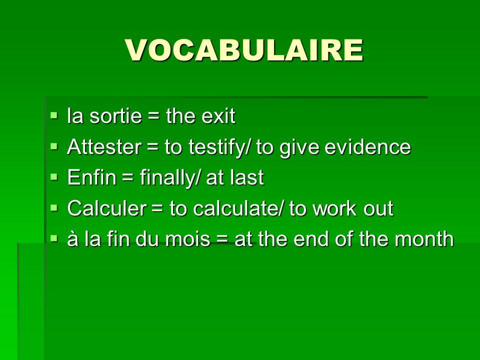 Réemploi du verbe «signaler» Exemples: Nous signalons les cas à la correspondancière.