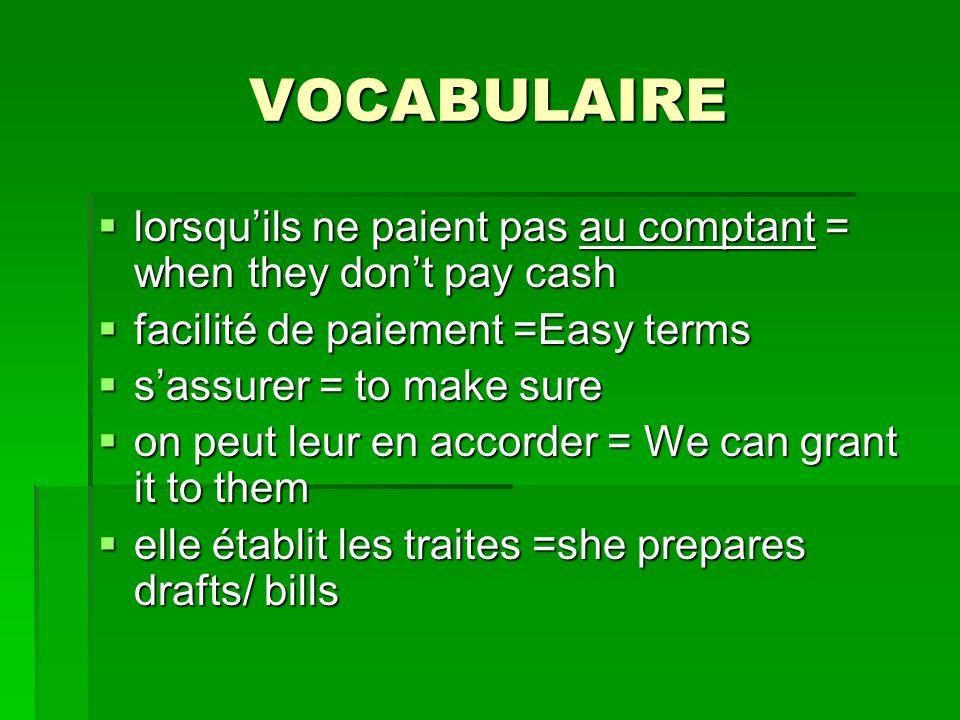 Réemploi du verbe «accorder» Exemples: Elle doit sassurer quon peut leur en accorder.