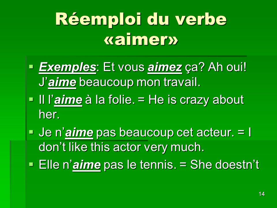 15 Traitement des verbes Être=to be(au présent) Être=to be(au présent) Je suis = i am Je suis = i am Tu es = you are Tu es = you are Il/elle est = he/she is Il/elle est = he/she is Nous sommes= we are Nous sommes= we are vous êtes = you are vous êtes = you are Ils/elles sont = they are Ils/elles sont = they are Être=to be(à limparfait) Jétais = i was Tu étais = you were Il/elle était = he/she was Nous étions =we were Vous étiez = you were Ils/elles étaient=they were