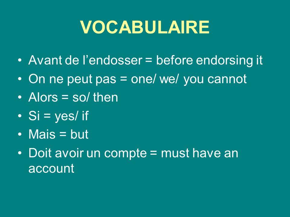 IL NE FAUT PAS … Il ne faut pas + linfinitif du verbe= its not necessary to …/ must not be done 1.Tu es rassasié.