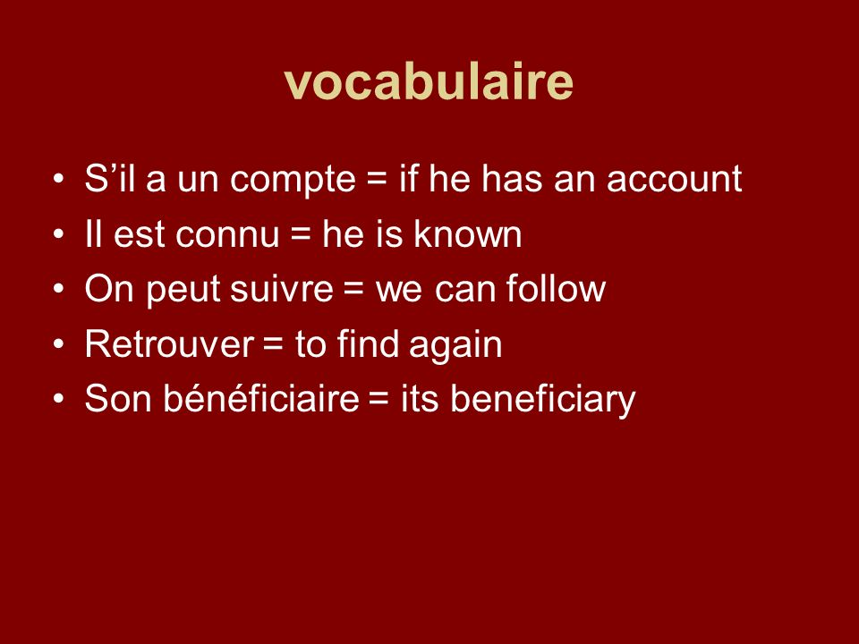 Traitement des verbes Imiter = to imitate/ to forge Jimite = I imitate/ I forge Tu imites = you imitate/ you forge Il/elle imite = he/she imitates/ forges Nous imitons = we imitate/ we forge Vous imitez = you imitate/ you forge Ils/elles imitent = they imitate/ they forge