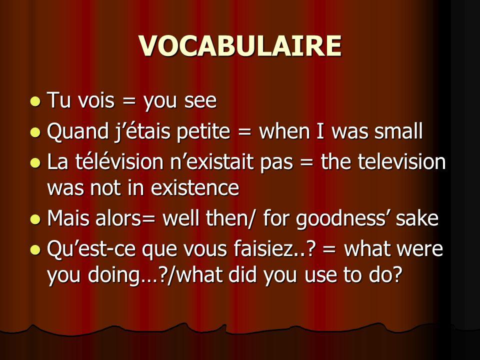 ACTIVITÉ 1 Faites des phrases selon le modèle Ex.