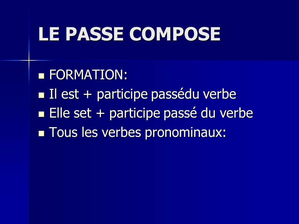 Verbs with past participles ending in u.1. avoir(to have)~eu.