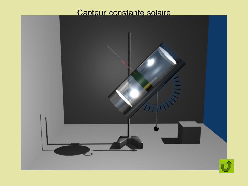 Plan du capteur Cylindre laiton Thermomètre Cylindre d alignement Fil à plomb Isolant Plexiglas Rapporteur