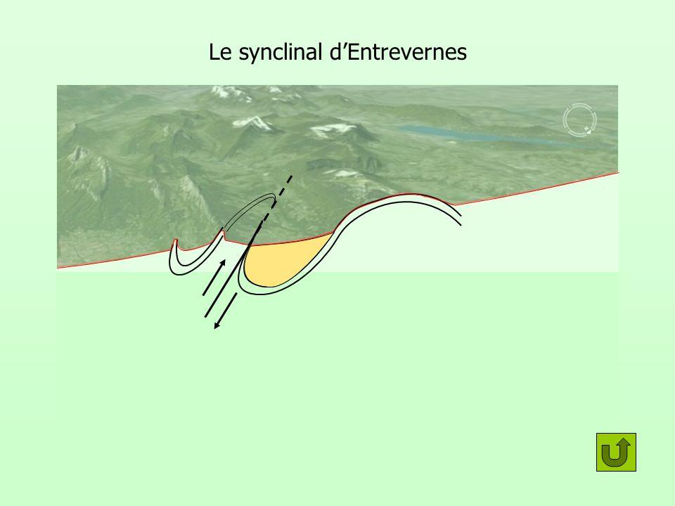 Le synclinal dEntrevernes Roc des bœufs Taillefer