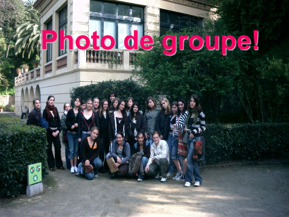 Photo de groupe!