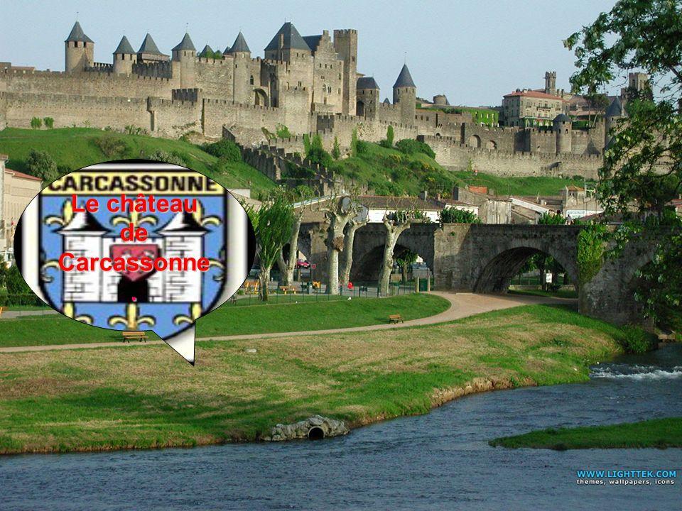 Le château de Carcassonne.