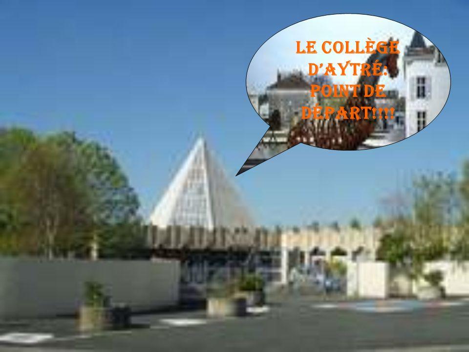 Le collège dAytré: Point de départ!!!!