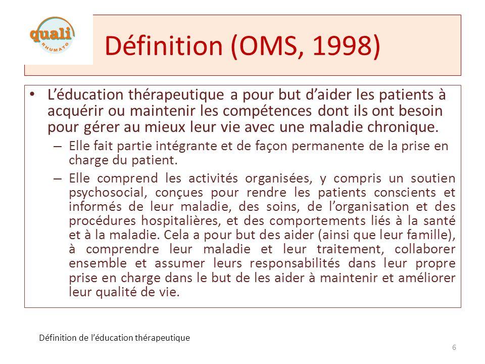 Définition maladie chronique (1/2) Définition donnée dans le plan damélioration de la QdV des maladies chroniques Maladie de longue durée, évolutive, souvent associée à une invalidité et à la menace de complications graves.