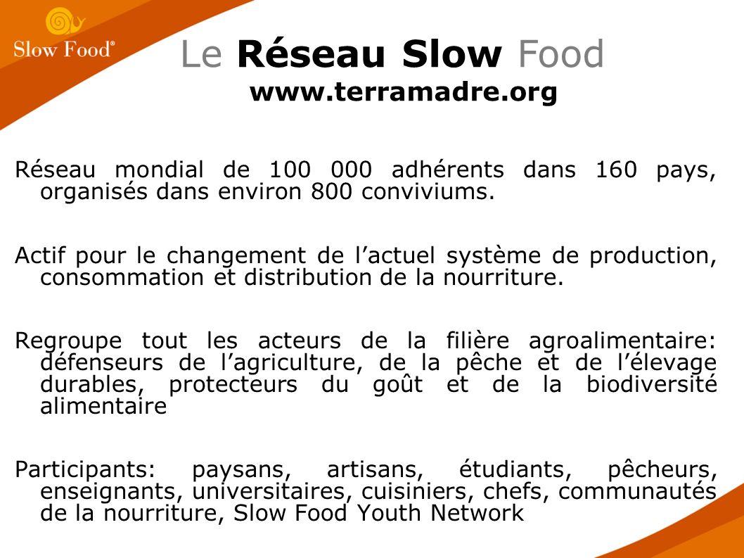 Slow Food Cuba né en2004.