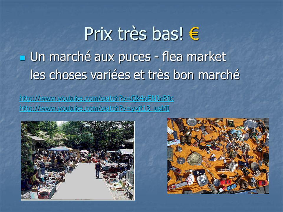 Prix très bas! Prix très bas! Un marché aux puces - flea market Un marché aux puces - flea market les choses variées et très bon marché http://www.you
