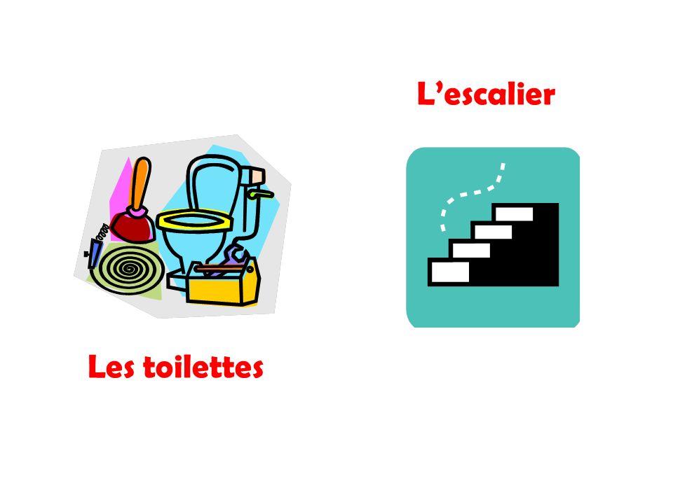 Les toilettes Lescalier