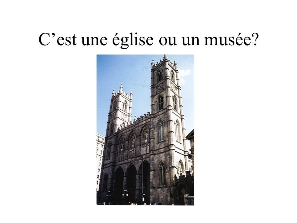 Cest une église ou un musée