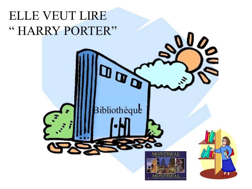 Bibliothèque ELLE VEUT LIRE HARRY PORTER