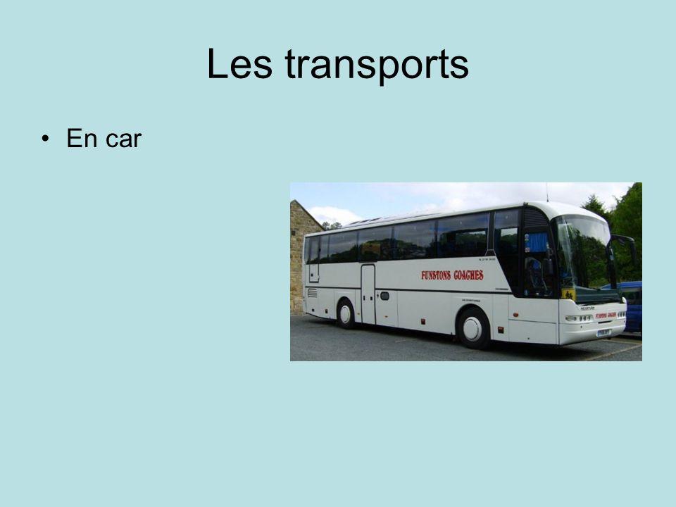 Les transports En car