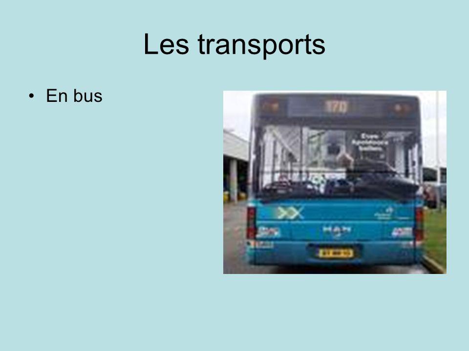 Les transports À pied