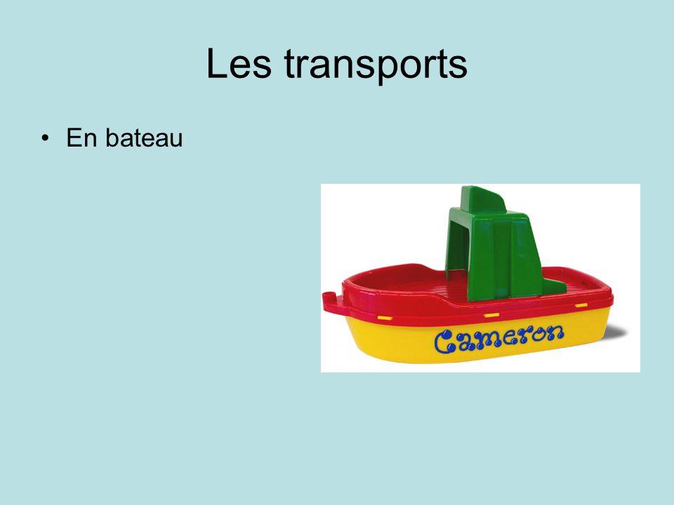 Les transports En bateau