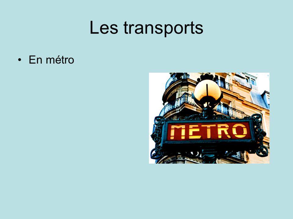 Les transports En taxi