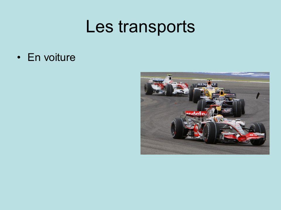 Les transports En voiture