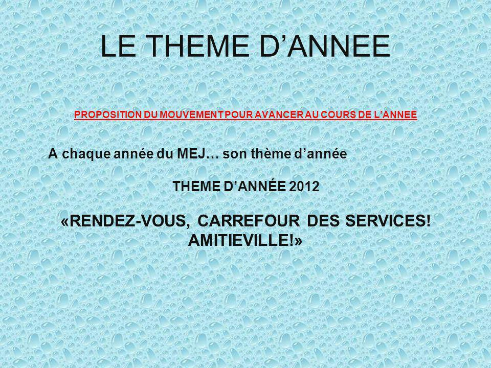 JOURNEE RECREATIVE ET CAMP ANNUEL RECREATIVE DAY AND ANNUAL CAMP