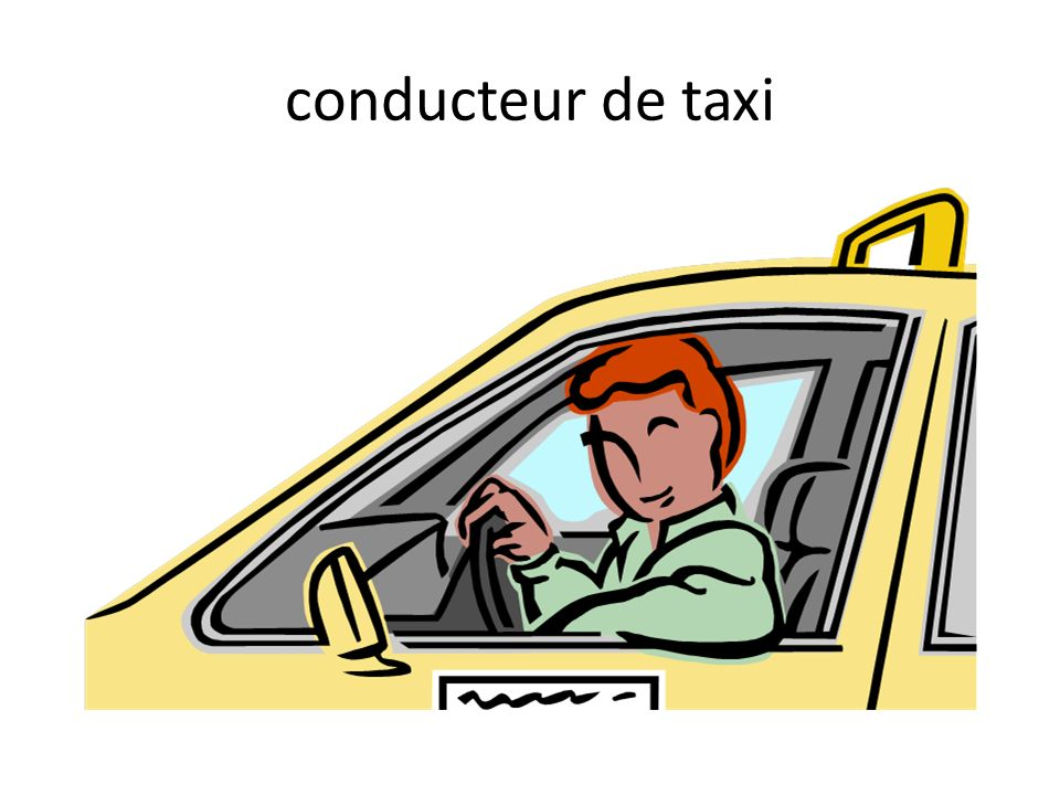 conducteur de taxi