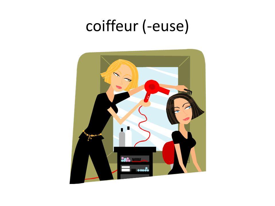 coiffeur (-euse)