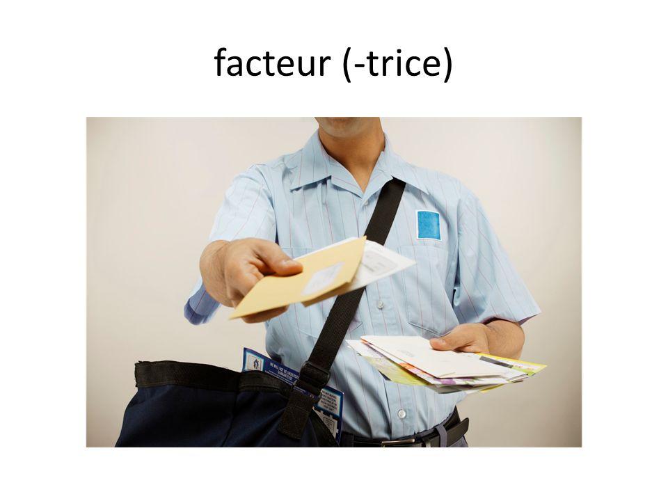 facteur (-trice)