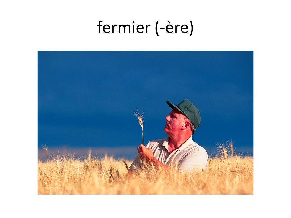 fermier (-ère)