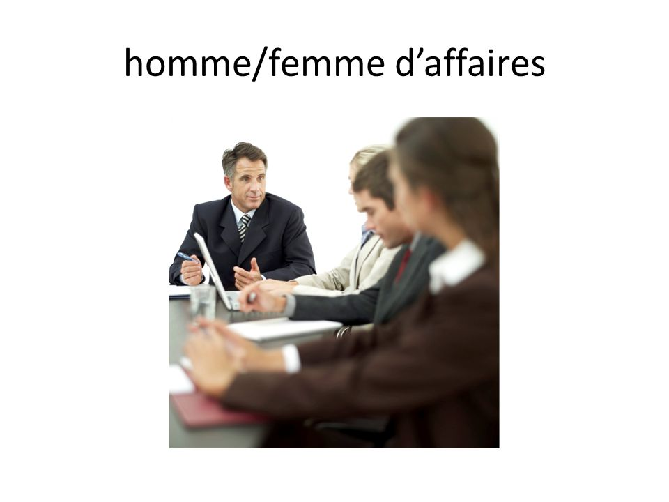 homme/femme daffaires