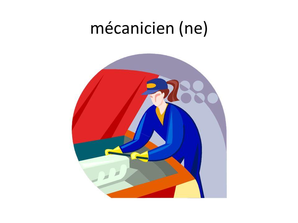 mécanicien (ne)