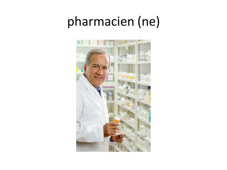 pharmacien (ne)