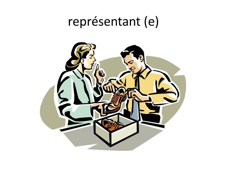 représentant (e)