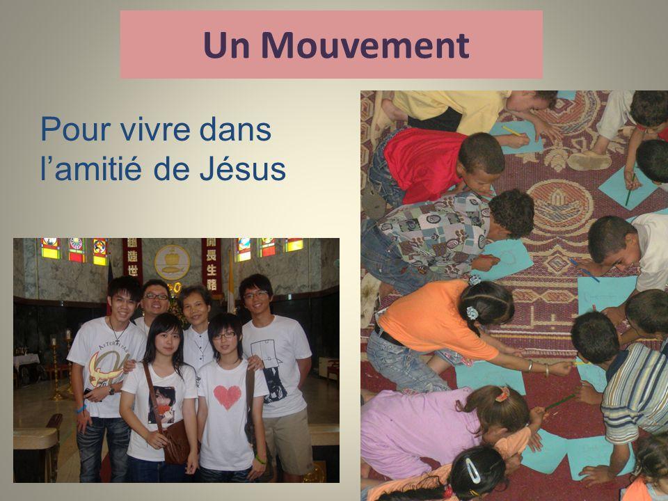 Un Mouvement Pour vivre dans lamitié de Jésus